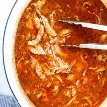 Chicken Tinga l SimplyScratch.com