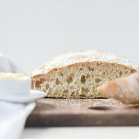 Homemade No-Knead Ciabatta Bread