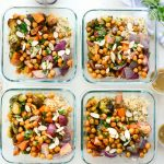 Roasted Fall Veggie Rice Bowls (Meal Prep!) l SimplyScratch.com