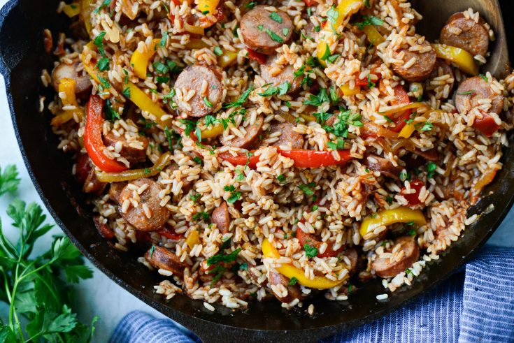 Andouille Cajun Rice Skillet