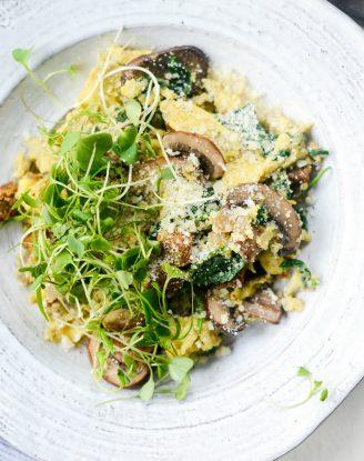 Healthy Spinach and Mushroom Scramble l SimplyScratch.com (16)
