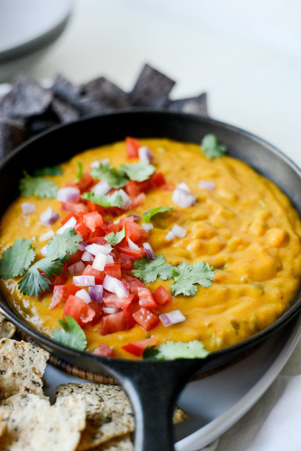 Spicy Squash Queso l SimplyScratch.com
