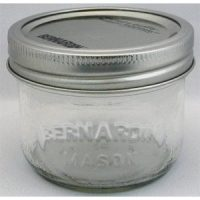 Bernardin Mason Jars - 250 mL - Wide