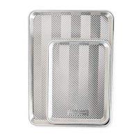 Nordic Ware 45372 2-Piece Prism Set-Half, Quarter Sheet, Aluminum