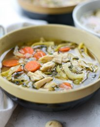 Leftover Turkey Noodle Soup l SimplyScratch.com