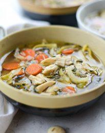 Leftover Turkey Noodle Soup l SimplyScratch.com