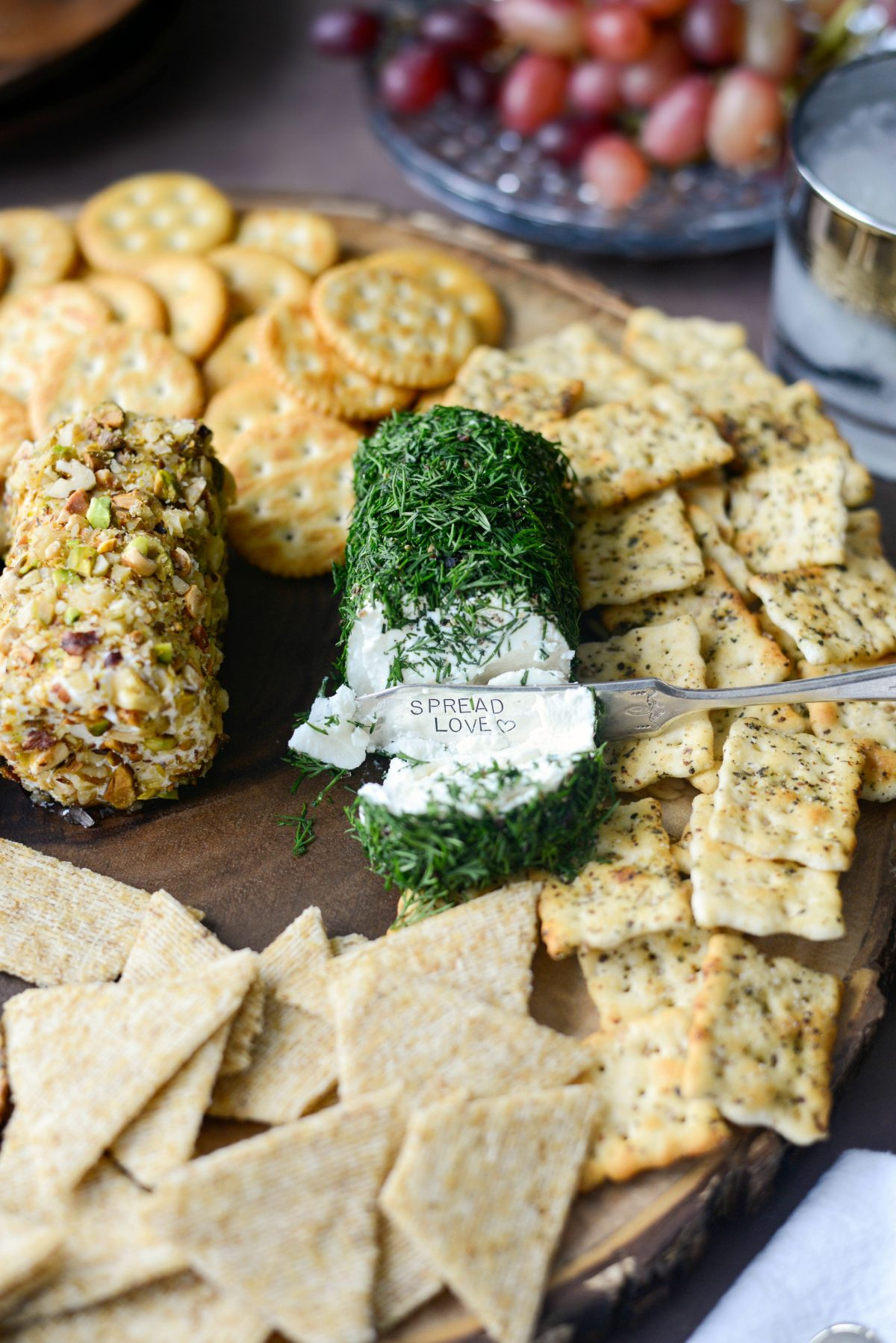 Christmas Goat Cheese Trio l SimplyScratch.com #holiday #appetizer #goatcheese #party