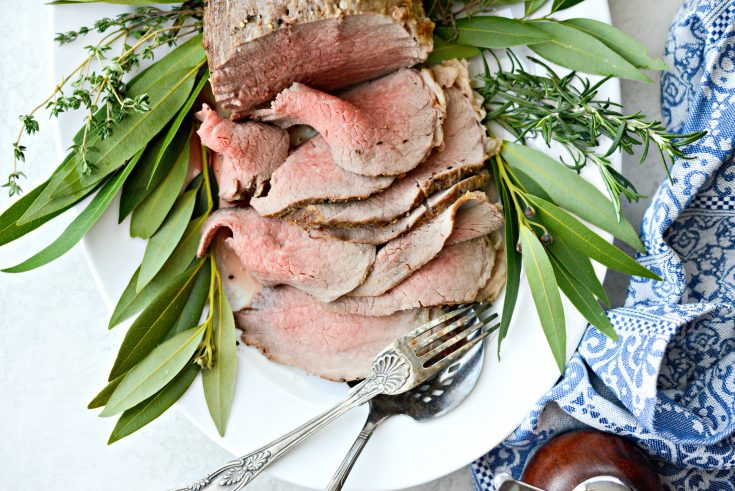 Homemade Roast Beef with Easy Au jus