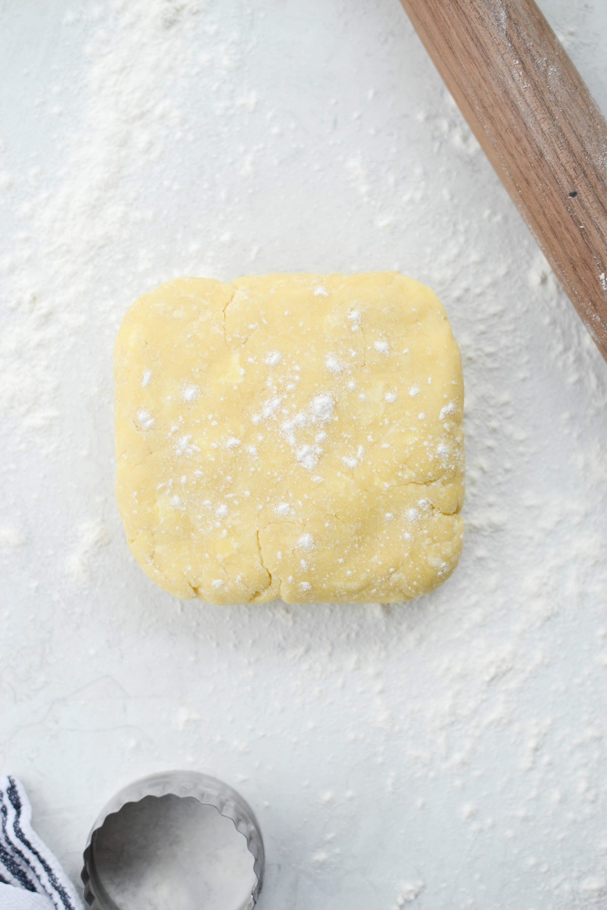 Easy Pâte Sucrée (Sweet Pastry Dough) l SimplyScratch.com