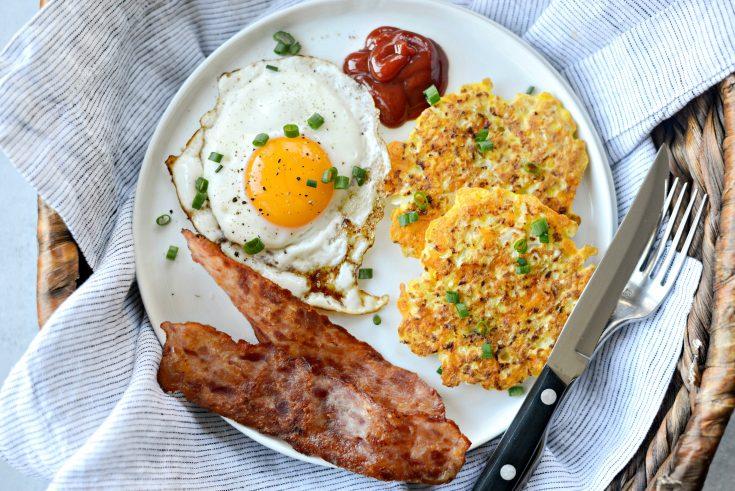 Cauliflower Breakfast Hash Browns