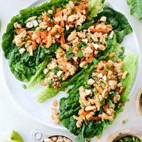 Ginger Cashew Lettuce Wraps