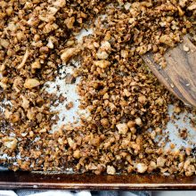Vegan Cauliflower Taco Meat l SimplyScratch.com