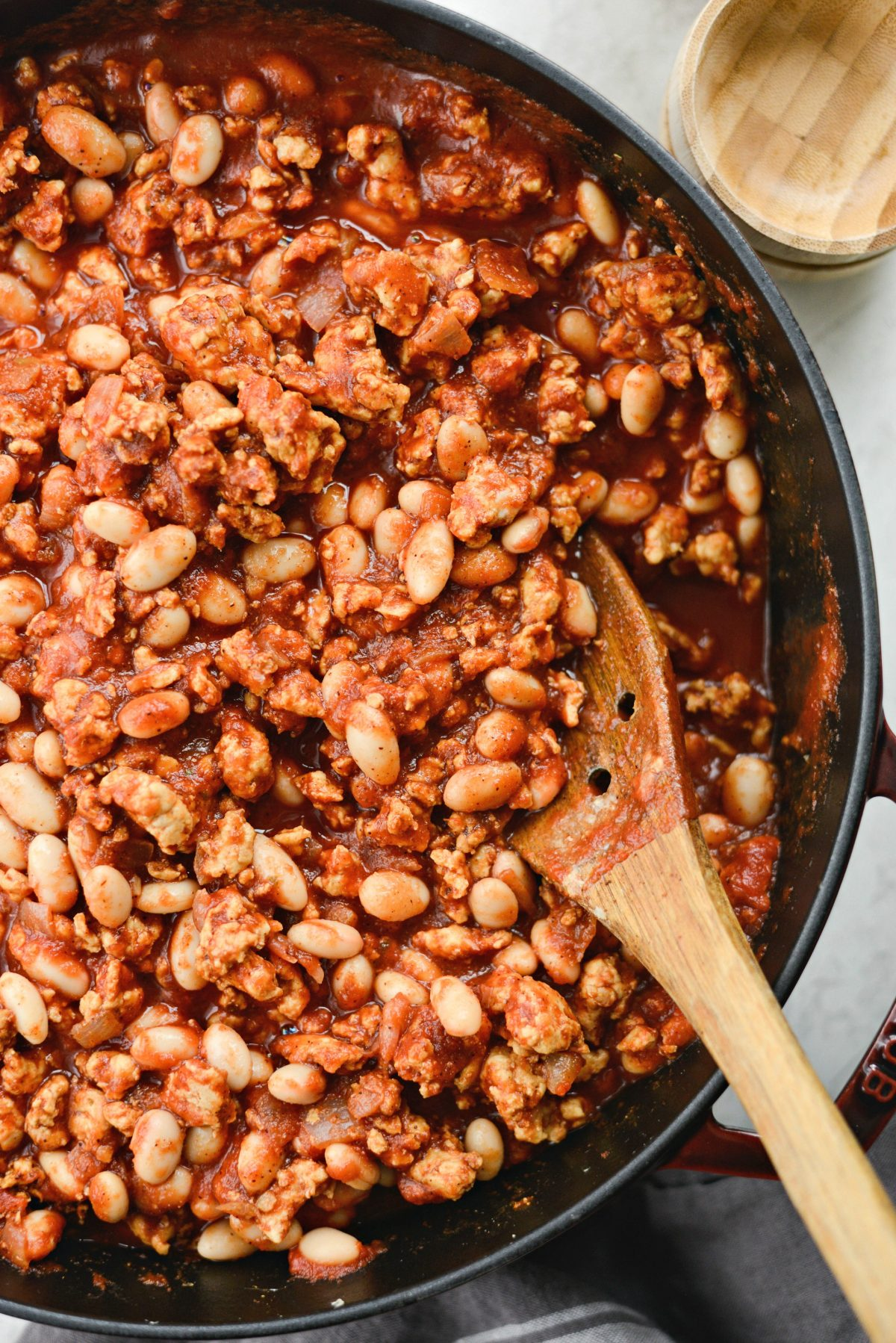 Chipotle White Bean Turkey Chili l SimplyScratch