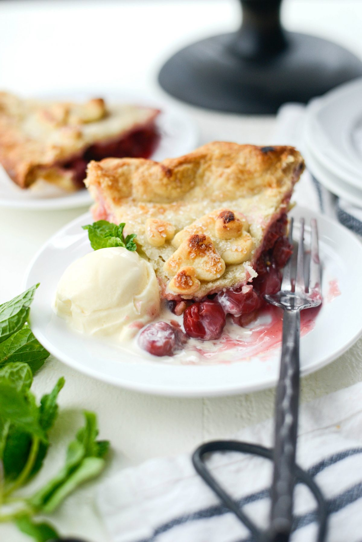 Homemade Cherry Pie l SimplyScratch.com