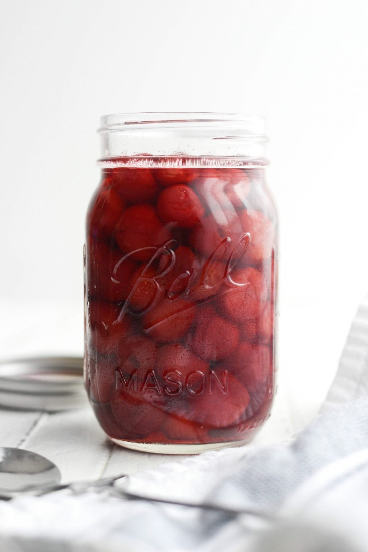 Homemade Maraschino Cherries l SimplyScratch.com