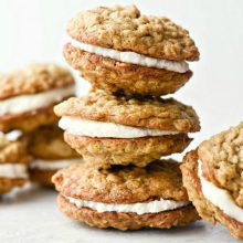 Homemade Oatmeal Cream Pies l SimplyScratch
