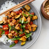 Kung Pao Chicken Stir-fry