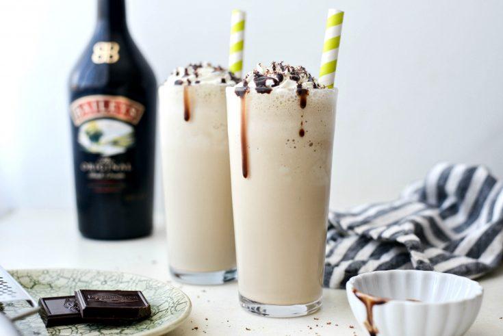 Baileys and Coffee Milkshake