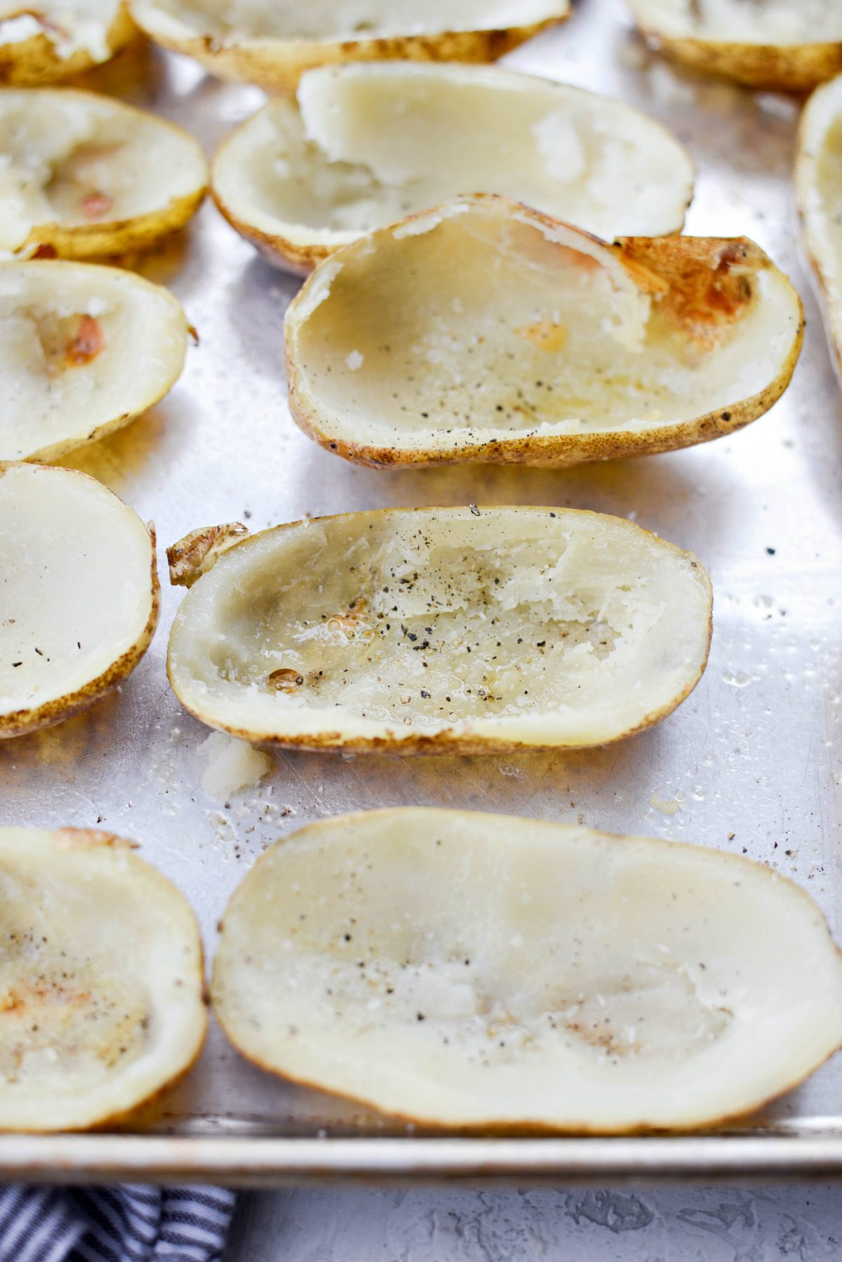 seasoned potato skins