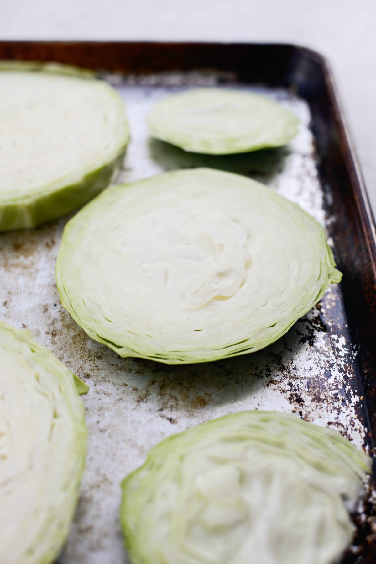 Roasted Cabbage Steaks l SimplyScratch.com #cabbage #steaks #sidedish #holiday #eats #easter #stpatricksday #irish #roasted