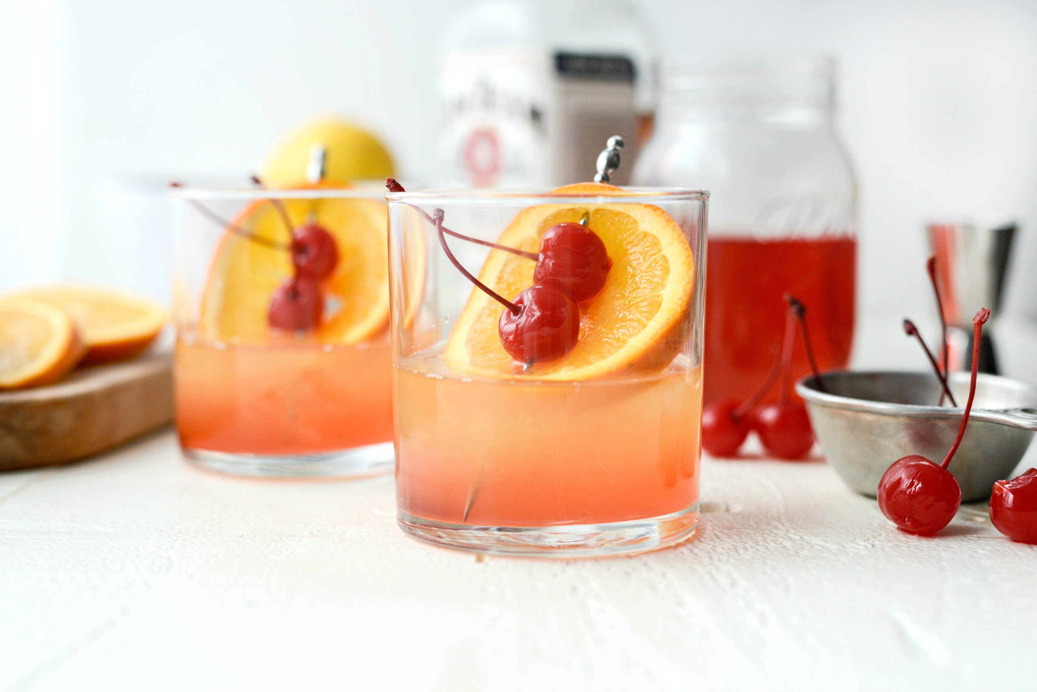 Whiskey Sour Sunrise Simply Scratch