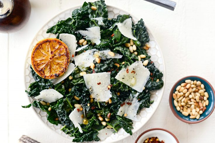 Charred Lemon and Tuscan Kale Salad