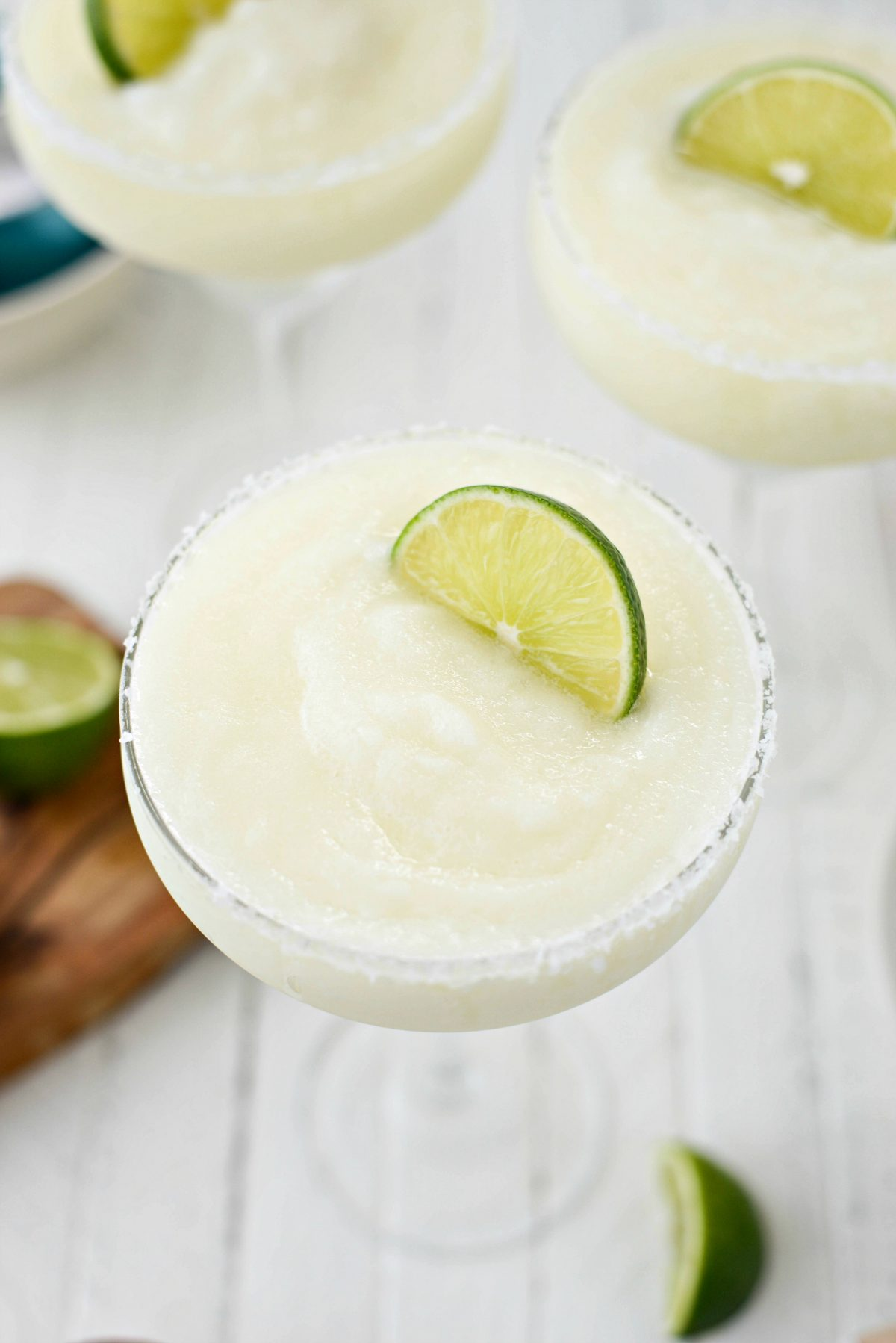 Frozen Margarita Slush l SimplyScratch.com #adultbeverage #margarita #frozen #tequila #cincodemayo #easy #blender #margs #drink