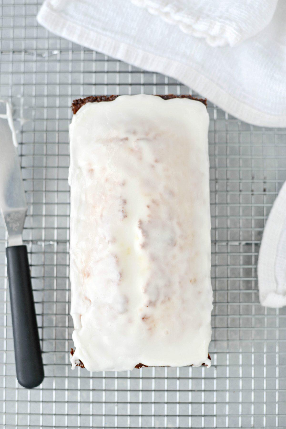 Glazed Lemon Cake l Simply Scratch.com #glazed #lemon #cake #loaf #starbucks #copycat #simple #dessert