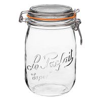 1 Le Parfait Super Jar - Discontinued (1, 1000ml - 32oz - OLD)