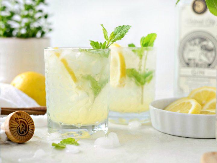 Lemon Gin Fizz - Simply Scratch