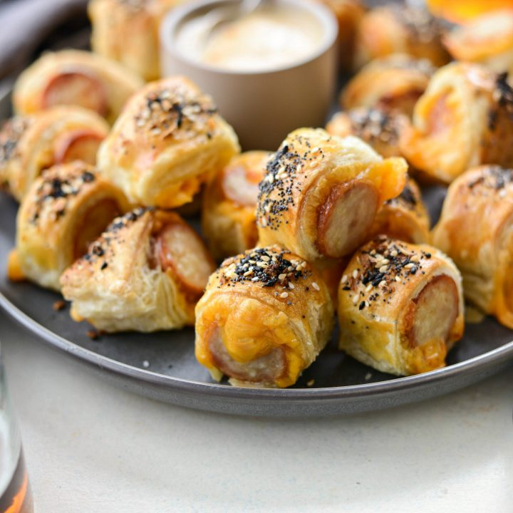 Pigs in a Blanket with Jalapeño Mustard Dip