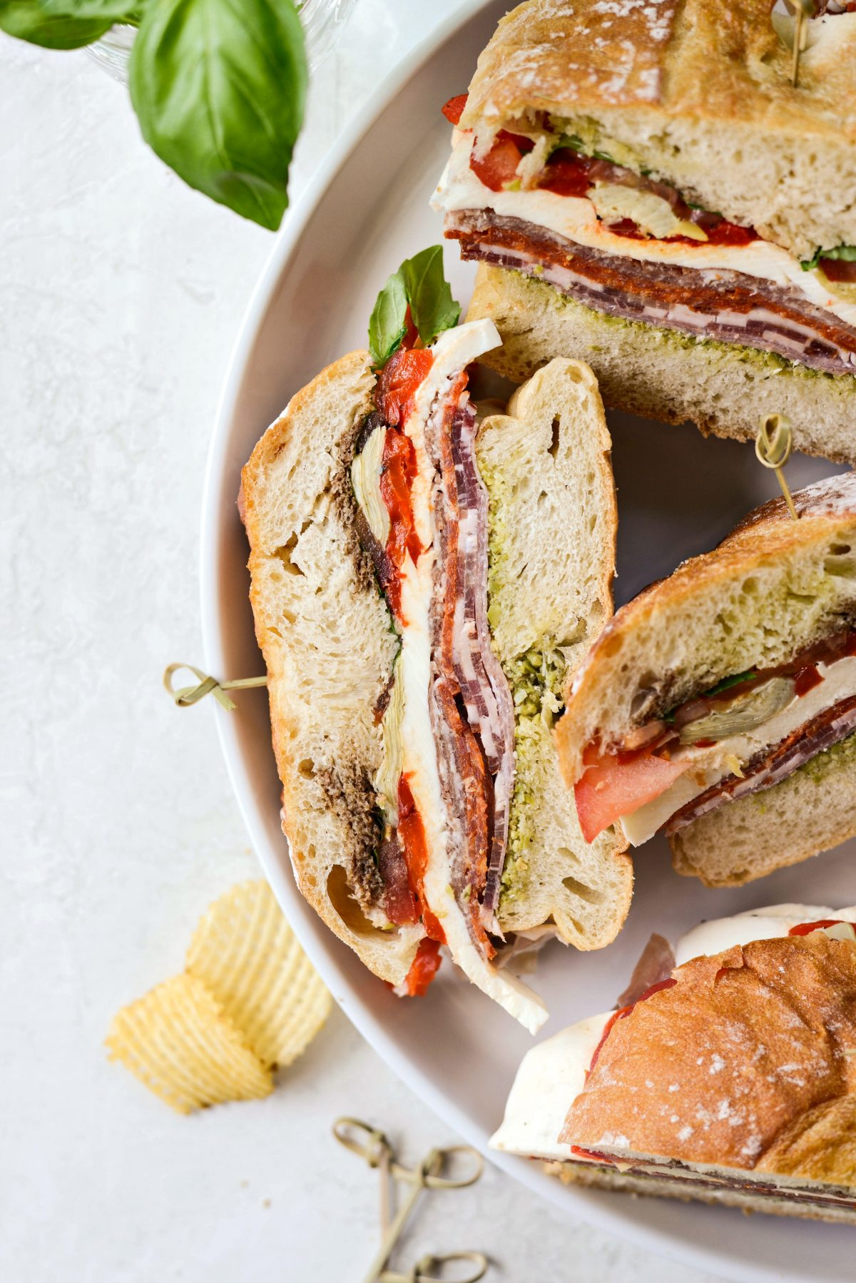 Ultimate Pressed Italian Sandwiches l SimplyScratch.com #pressed #italian #sandwich #summer #easy #picnic #food