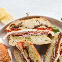 Ultimate Pressed Italian Sandwiches