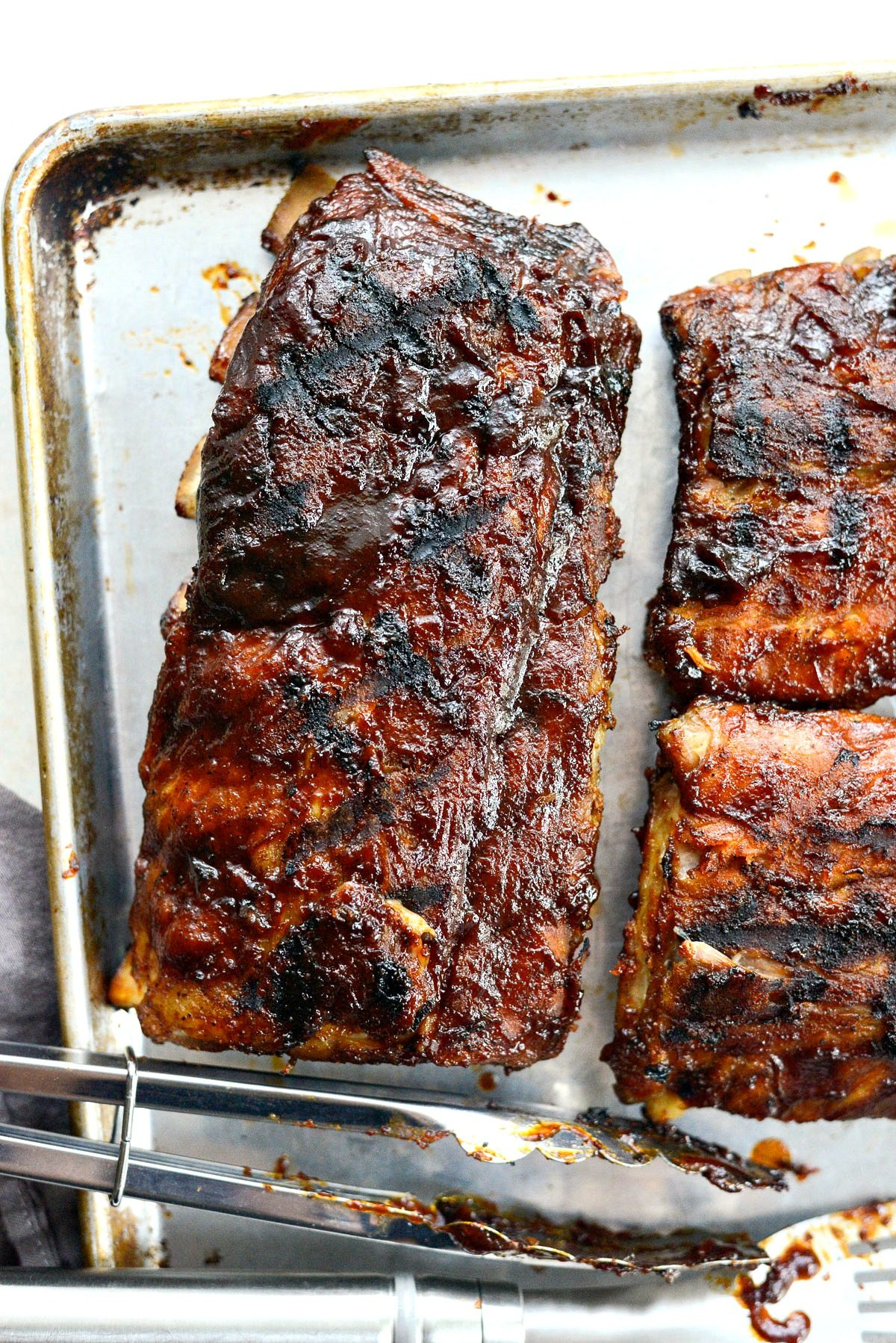 Easy BBQ Baby Back Ribs - Simply Scratch