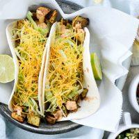 Spicy Potato Soft Tacos
