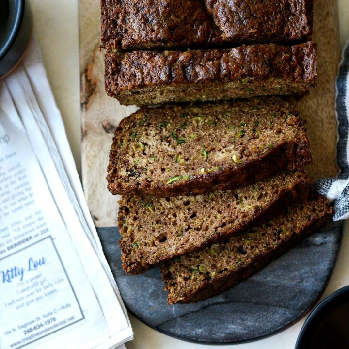Homemade Butter Cake From Scratch: Homemade Olive Oil Zucchini Bread