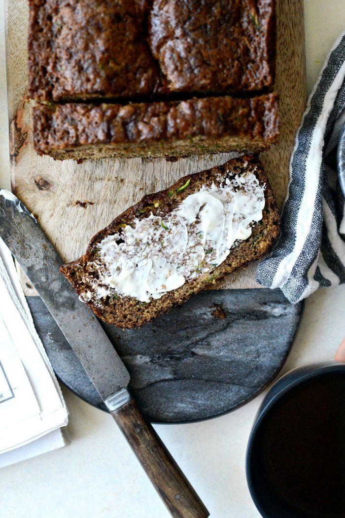 Olive Oil Zucchini Bread l SimplyScratch.com #homemade #oliveoil #zucchini #bread #fromscratch #simplyscratch #sweetbread