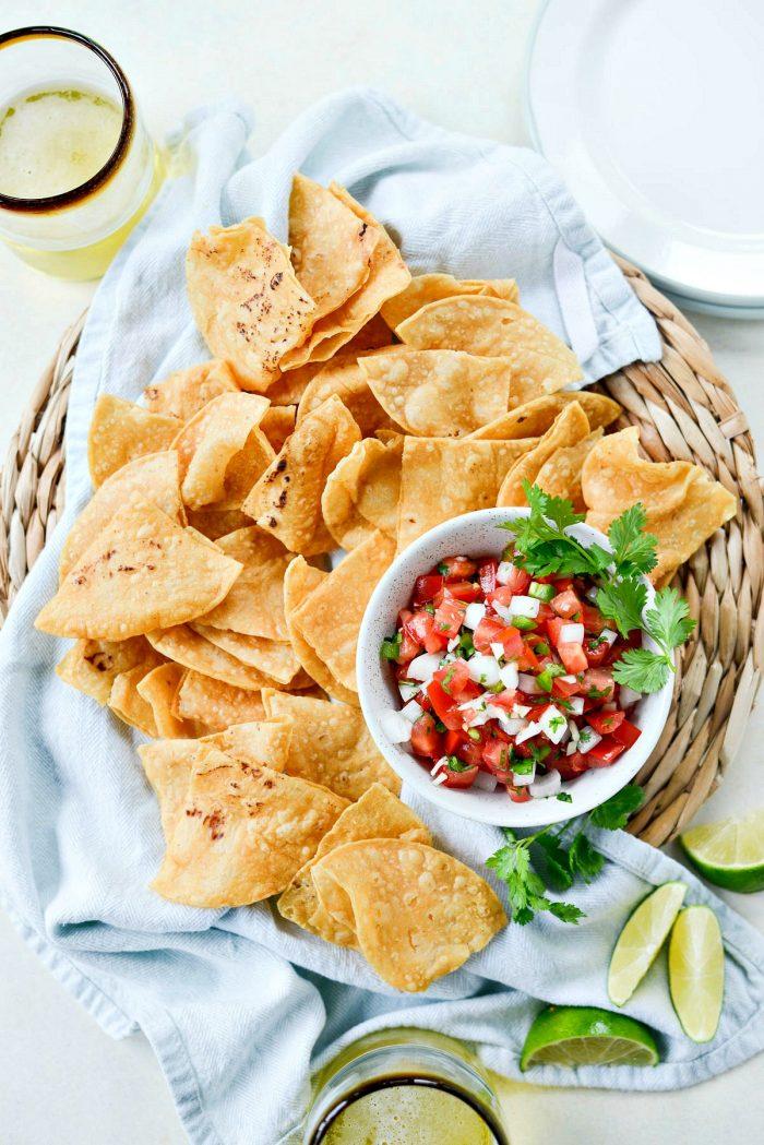 Quick Pico de Gallo l SimplyScratch.com #picodegallo #pico #tomatoes #fresh #salsa #fresca #mexican #appetizer