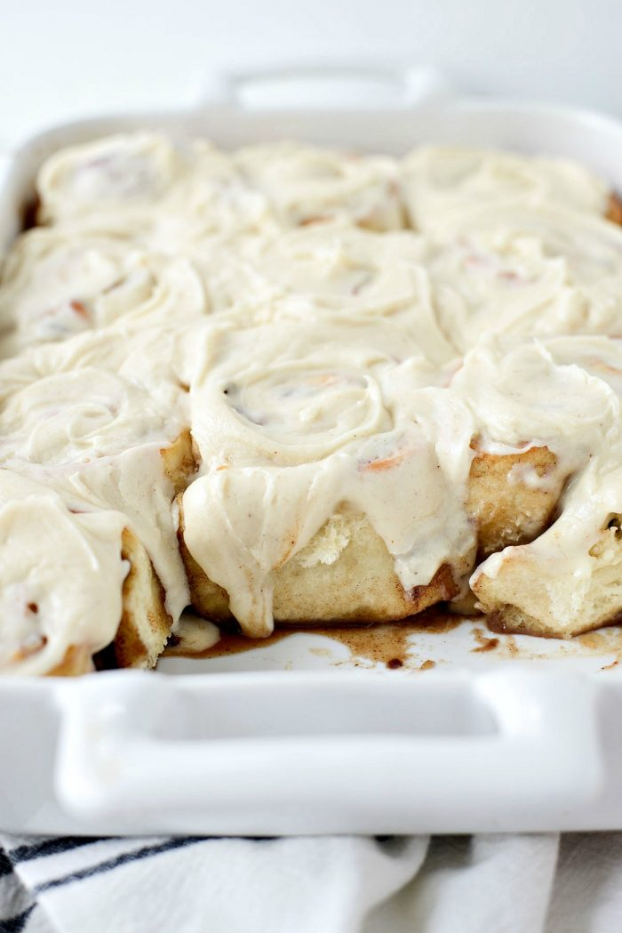 Apple Pecan Chai Cinnamon Rolls l SimplyScratch.com #apples #pecans #cinnamonrolls #chai #spice #homemade #fromscratch #simplyscratch