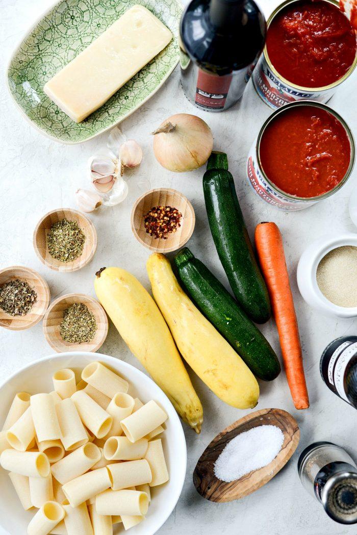 Garden Vegetable Ragu - Simply Scratch