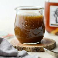 Homemade Butter Rum Sauce