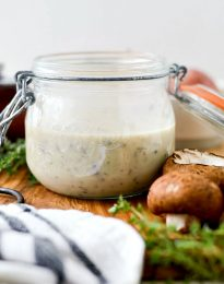 Homemade Condensed Cream of Mushroom Soup l SimplyScratch.com #fromscratch #homemade #condensed #soup #easy #mushroom #DIY #canofsoup