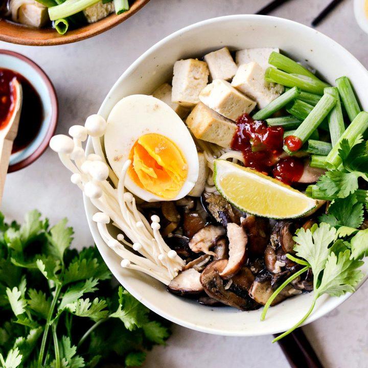 Mushroom Ramen Bowls