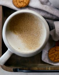 Pumpkin Spice Chai Latte l SimplyScratch.com #pumpkin #pumpkinspice #chai #late #beverage #fall #warm #drink