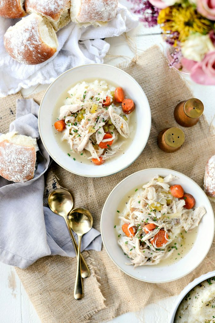 Slow Cooker Chicken and Vegetables l SimplyScratch.com #slowcooker #chicken #vegetables #dinner #meal #easy #simplyscratch