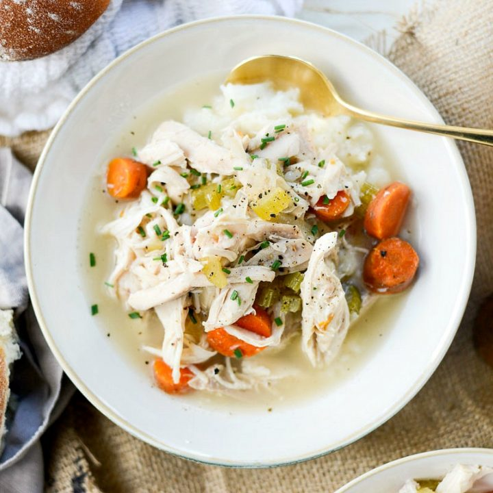 Slow Cooker Chicken and Vegetables