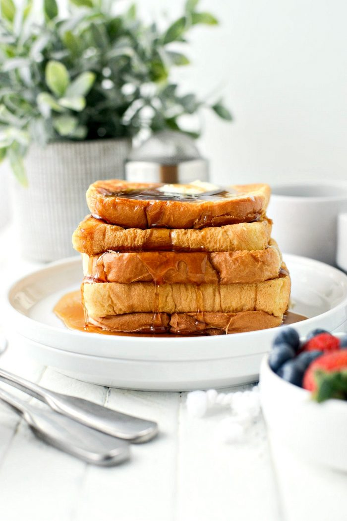 Your Basic Weekend French Toast l SimplyScratch.com #frenchtoast #breakfast #brunch #basi #easy #simplyscratch