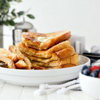 Your Basic Weekend French Toast