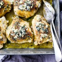 Parmesan Garlic Baked Chicken
