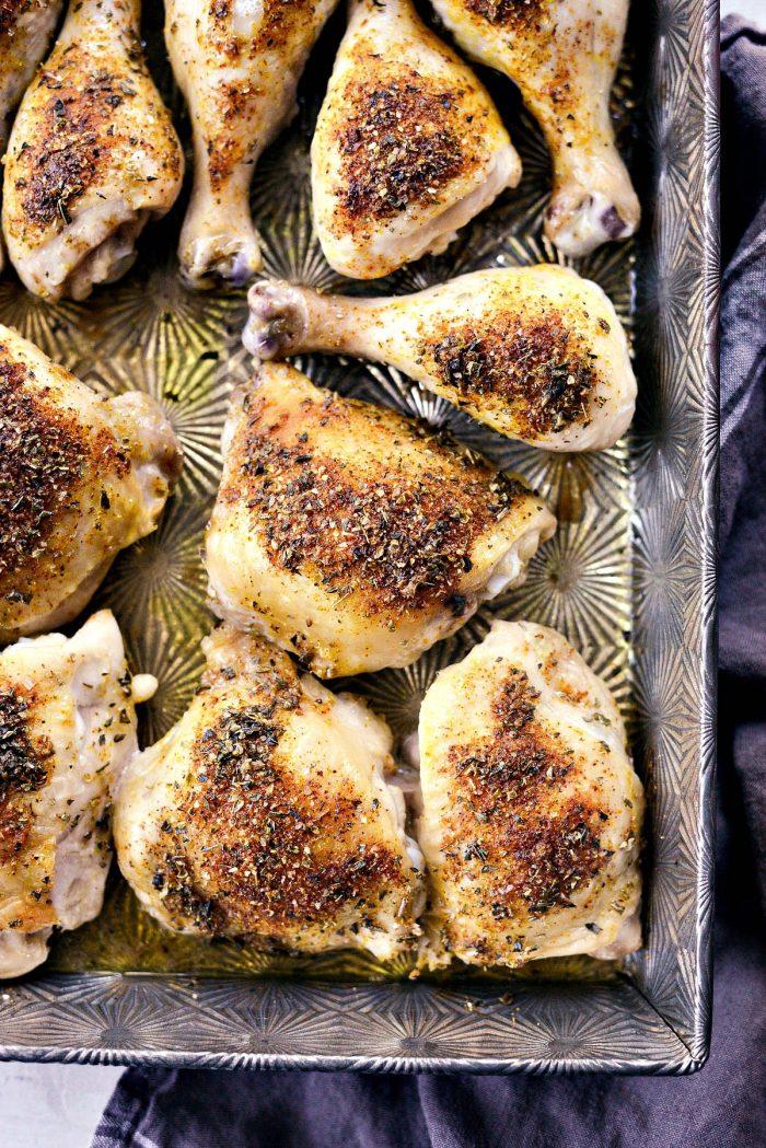 Parmesan Garlic Baked Chicken l SimplyScratch.com #parmesan #garlic #baked #chicken #easy #recipe #simplyscratch #dinner #homemade